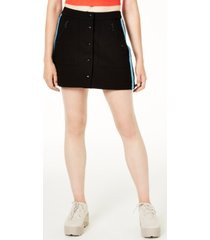 juicy couture ponte-knit button-up skirt