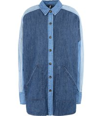 free people denim shirts