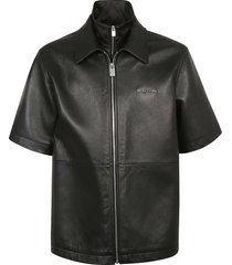 1017 alyx 9sm leather double collar shirt