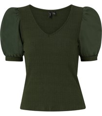 topp vmviola 2/4 v-neck top
