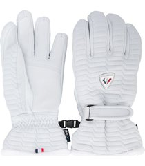rossignol select impr textured gloves - white