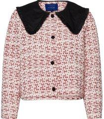 carriers blazer zomerjas dunne jas rood résumé