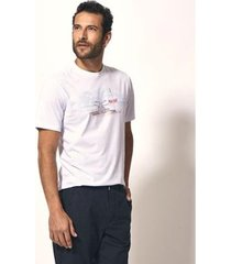 camiseta aviator t-shirt silk balneário masculina