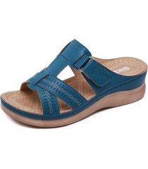 sandalias de mujer zapatillas cómodas retro