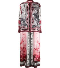 f.r.s for restless sleepers galene long dress - pink