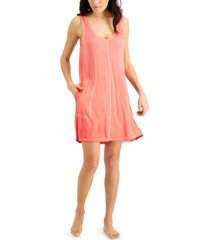 jenni washed tank chemise nightgown, created for macy's