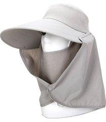 mantón sombrilla para cuello de pescador sombrero sombrero sombrero para el sol protección solar