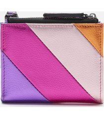kurt geiger london women's mini metallic purse - multi