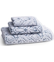 kassatex dalia hand towel, size one size - blue