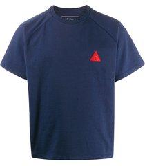 gr-uniforma short raglan-sleeved t-shirt - blue