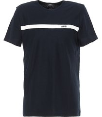 a.p.c. t shirt yukata color h