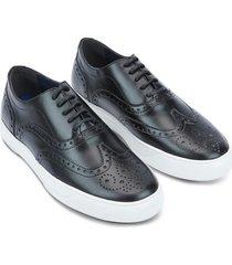 sneakers de cuero grabado 93995