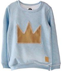 bluza creamy crown  blue