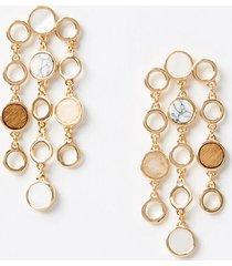 loft beach charm statement earrings