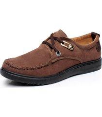 scarpe casual antiscivolo in tessuto di grandi dimensioni per uomo