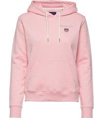 d1. medium shield hoodie hoodie trui roze gant