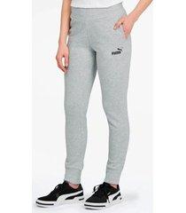 pantalón gris puma essentials sweat