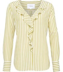 opus blouse met ruches felmie