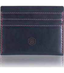 jekyll & hide texas compact rfid card holder - blue 3628tebe