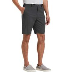 joseph abboud charcoal modern fit shorts