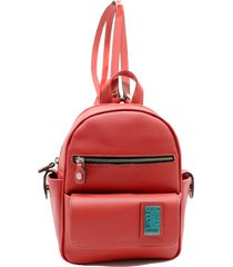 mochila roja leblu chica