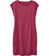 jersey jurk, bes 44