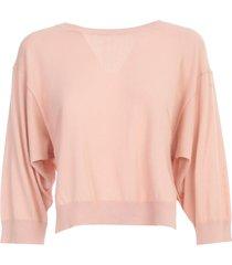parosh sweater 3/4s short w/slits