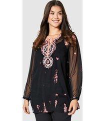 blouse angel of style zalm::zwart