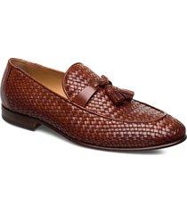 footwear mw - f356 loafers låga skor brun sand