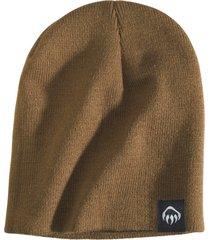 wolverine knit beanie chestnut, size one size