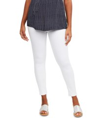 indigo blue maternity skinny pants