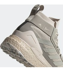 adidas x parley mission men's terrex free hiker parley hiking shoes - alumina - uk 11
