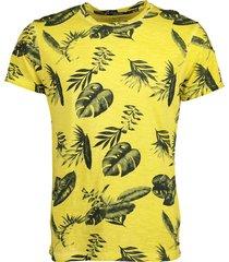 no excess t-shirt - modern fit - geel