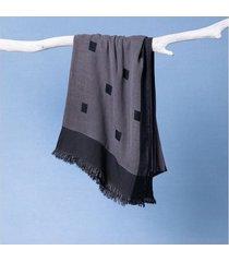 lenço isis cor: preto - tamanho: único