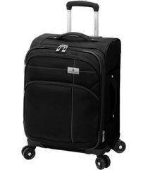 "london fog cranford 20"" spinner suitcase"