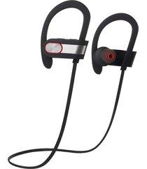 audífonos bluetooth estéreo hd manos libres inalámbricos, v7 deportes bluetooh micrófono estéreo inalámbrico impermeable con cancelación de ruido (plata)