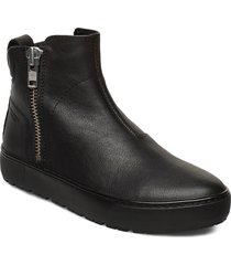 bree shoes boots ankle boots ankle boots flat heel svart vagabond