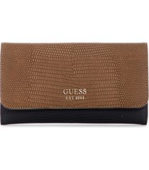 guess lyndi slim clutch wallet