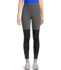 colorblock stretch leggings
