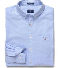 gant heren overhemd licht button-down oxford regular fit