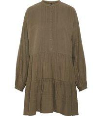 mini jurk oversized katoenen