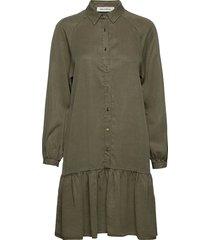 dress jurk knielengte groen sofie schnoor