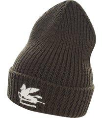 etro tricot logo hat