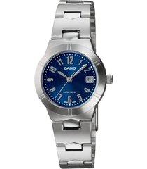 reloj casio  ltp-1241d-2a2 mujer