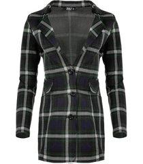 blazer zizo blazer conway green check w19.con.018