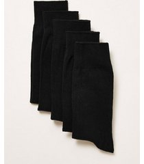 mens black socks 5 pack