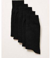 mens black socks 5 pack
