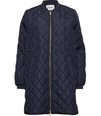 york jacket doorgestikte jas blauw modström