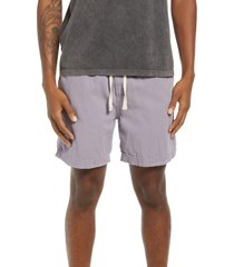 bdg urban outfitters twill shorts, size large in lilac at nordstrom