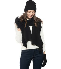 charter club cashmere ruffled muffler scarf, created for macy's